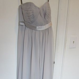 Platinum Floor-length Gown